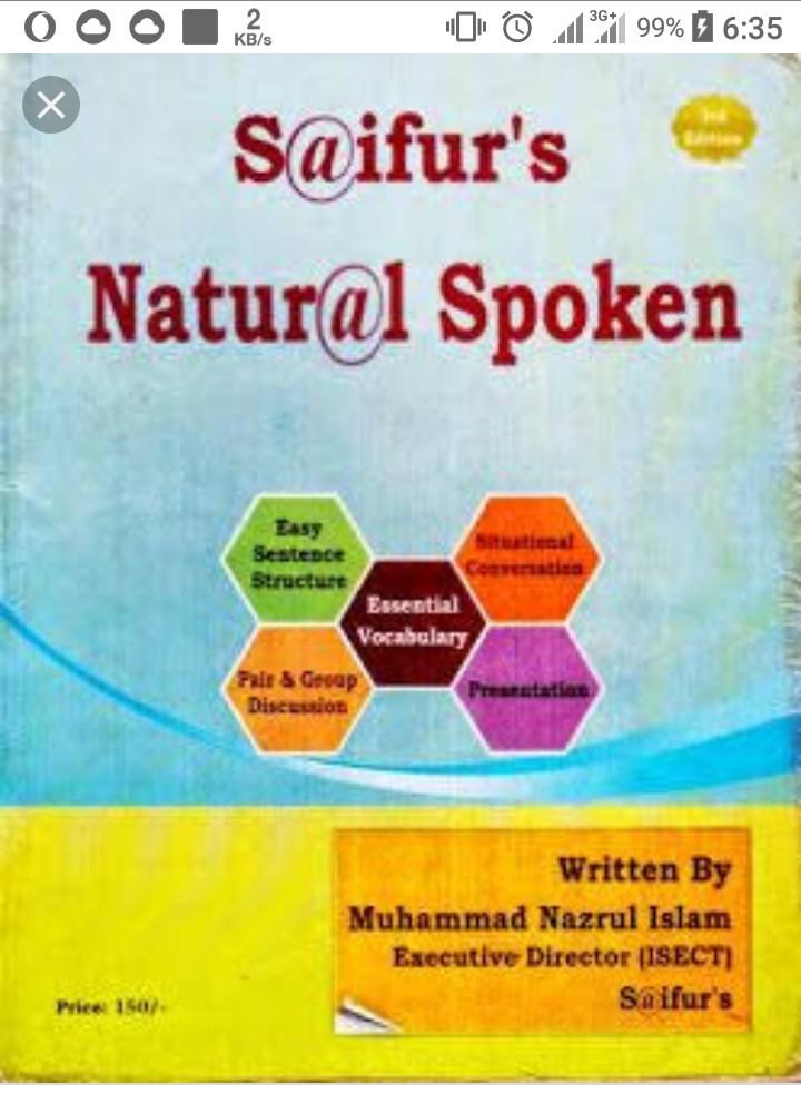 Saifurs natural spoken english pdf